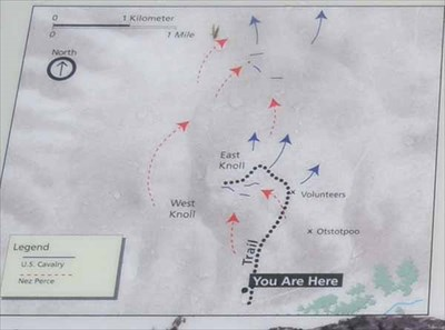 White Bird Battlefield Trail Idaho You Are Here Maps On