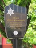 Image for Officer William Katzenstein Memorial - Tucson, Arizona