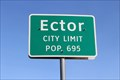 Image for Ector, TX - Population 695