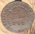 Image for U.S. General Land Office Survey S. C. T16S S35 R18E S36 DOT Disk - Felicity, CA