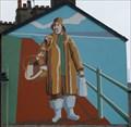 Image for Fisherman mural - Back Green Street, Morecambe, Lancashire, UK.