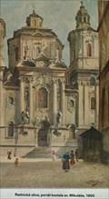 Image for Portal kostela sv. Mikulase  by Vaclav Jansa - Prague, Czech Republic