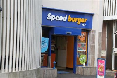 Une petite boutique de Burger pas très loin du centre