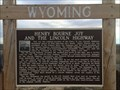 Image for Henry Bourne Joy and the Lincoln Highway - Rawlins, WY