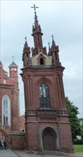Image for Church of St. Anne Bell Tower - Vilnius, Lithuania
