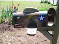 Image for Curtiss P-40 Flying Tiger Mailbox - Windsor Locks, CT