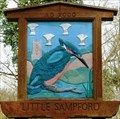 Image for Village Sign, Little Sampford, Essex, UK