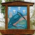 Image for Village Sign, Little Sampford, Essex, UK