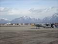 Image for Salt Lake Bees banner plane crashes