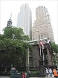 Image for LAST remaining colonial-era church in Manhattan - St. Paul's Chapel - Manhattan, New York