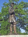 Image for Pat Cleburne statue unveiled - Cleburne, TX