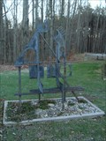 Image for Abstract Art Bench - Leverett, MA
