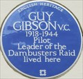 Image for Guy Gibson VC - Aberdeen Place, London, UK