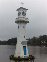Scott Memorial, Roath Park, Cardiff, Wales