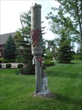 Image for Angel And Christmas Candle - Sliver Bells - Dundee, MI
