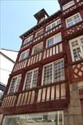 Image for Immeuble, librairie Le Failler, 14 rue Saint-Georges, 3 rue de Derval - Rennes, France