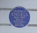Image for Friedrich Engels -- Regent's Park Road, Camden, London, UK