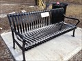 Image for Stanley Edward Krupicz Bench - Caledonia, ON