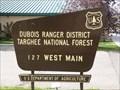Image for Caribou-Targhee National Forest: Dubois Ranger Station - Dubois, Idaho