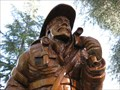 Image for Heroes Wooden Display - Lakeport, CA