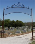 Image for Old IOOF Cemetery Arch -- Hamilton TX