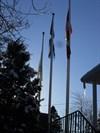 1-2-3- drapeaux pas de vent.