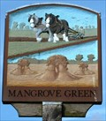 Image for Village Sign, Mangrove Green, Herts, UK
