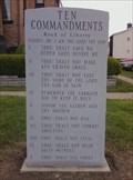 Image for Exodus 20:18  - The Ten Commandments - Faith Bible Church - Connellsville, Pennsylvania