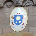 Image for Papal Seal of Pope Francis, Bamberg Cathedral - Bamberg, Germany
