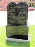 Image for Beatitudes from the Gospel of St. Matthew (The Bible) - St. Mary's Catholic Cathedral - Cheyenne, WY