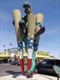 Image for Big Texan gets its kicks with new Dinosaur - Amarillo, Texas.