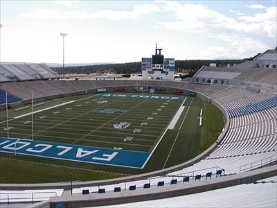 Falcon Stadium Air Force Academy Colorado Springs Co College Football Stadiums On Waymarking Com