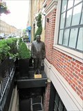 Image for Life-size statue of businessman Kumait Ai-Ali could be removed - Westminster, London, U.K.