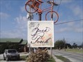 Image for Back Porch Designs and Gifts Elevated Bicycle - Prairie Grove AR