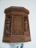 Image for Wooden Plaque - All Saints - Walcott, Norfolk