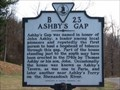 Image for Ashby's Gap