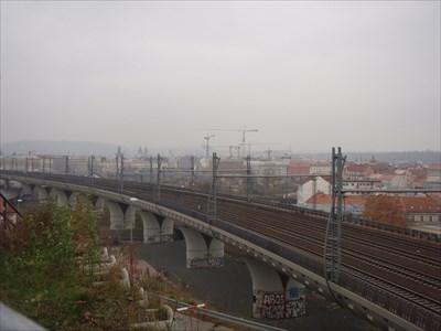Railroad Bridge from Wilson Railway Station to Vitkov Hill