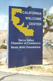 California Welcome Center