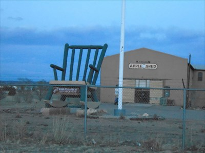 Incredible Worlds Largest Rocking Chair Penrose Co Roadside Gmtry Best Dining Table And Chair Ideas Images Gmtryco