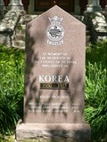 Image for KOREAN WAR MEMORIAL  --  Lindsay, Ontario