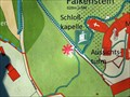 Image for Map of the Schlosspark Falkenstein - BY / Germany