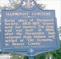 Image for Harmonist Cemetery