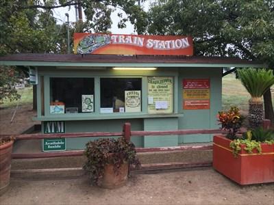 Zilker Zephyr Train Station, Austin, Texas