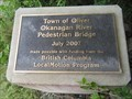 Image for Eastside Hike and Bike Greenway Pedestrian Bridge - 2007 - Oliver, British Columbia