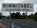 Image for Nimmitabel, NSW, Australia - 1070 m