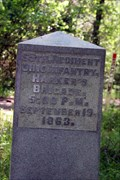 Image for 65th Ohio Infantry Regiment Marker - Chickamauga National Military Park