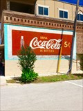 Image for Drink Coca-Cola in Bottles Mural - Sanger, TX