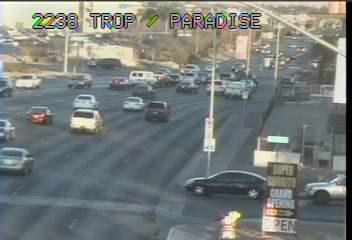 Tropicana & Paradise Webcam - Las Vegas, NV - Web Cameras ...