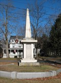 Image for Bloody Brook Monument. South Deerfield, MA