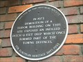 Image for Black Plaque - Aylesbury Town Defences